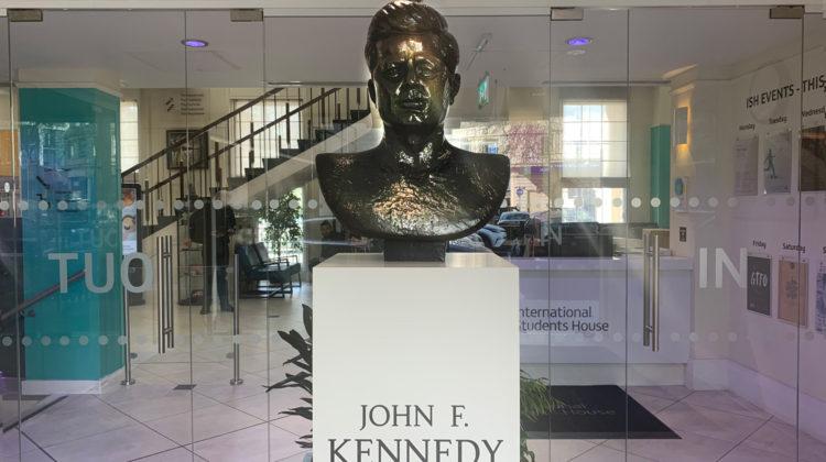 John F Kennedy Memorial At International Students House