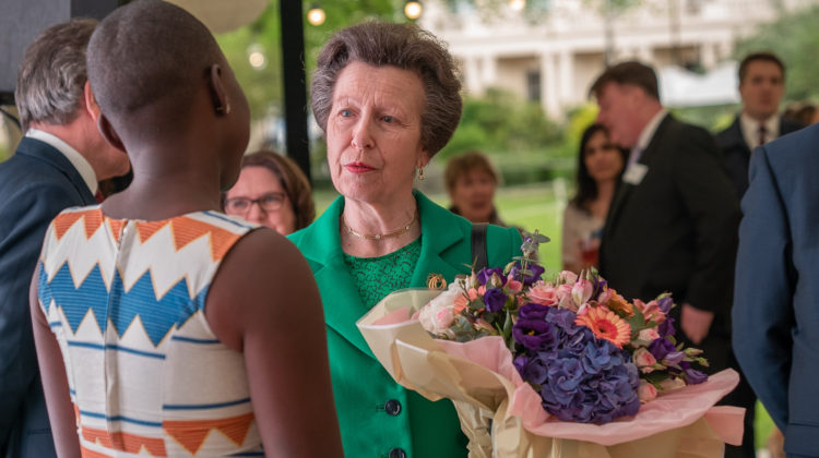 The Princess Royal visits International Students House